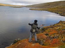 Riding and Angling - Riding tour in the Westfjords of Iceland