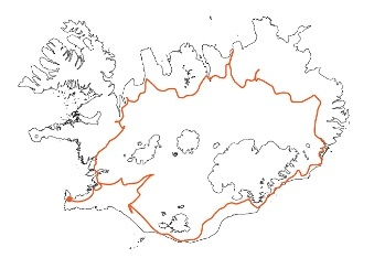 Map - Along the Ring Road around Iceland - Self-Drive Tour Iceland